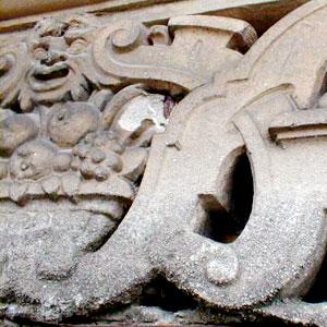 Sandstrahlen von Skulpturen